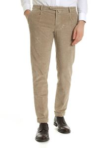 Briglia 1949 - Corduroy trousers in beige