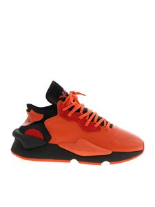 Y-3 Yohji Yamamoto - Kaiwa sneakers in orange and black