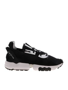 Y-3 Yohji Yamamoto - ZX Torsion sneakers in black and white