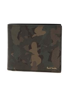 Paul Smith - Naked Lady Camouflage wallet in green