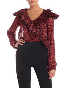 Pinko - Coffee body in red and black