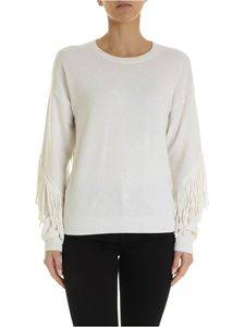 Pinko - Pullover Kahlua bianco