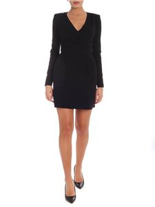 Pinko - Rumeno dress in black