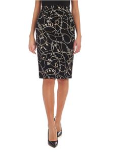 Pinko - Illusion skirt in black