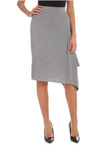 Pinko - Masterpiece skirt in melange grey