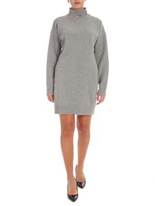 Pinko - Miss Mary turtleneck dress in grey