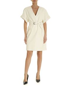 Pinko - Gypsy dress in ivory color