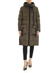 Pinko - Sciroppo down jacket in Military green color