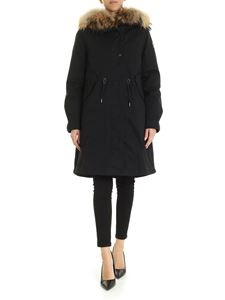 Woolrich - Cascade hooded down jacket in black