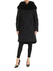 Woolrich - Bellefonte thermore hooded down jacket in black