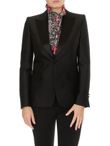 Dsquared2 - Satin lapels jacket in black