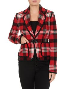Dsquared2 - Tartan blazer with black edges