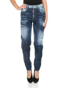 Dsquared2 - Jeans Light Belt Under Patch Eighties