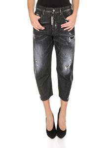 Dsquared2 - Kawaii Jeans in Black Worked
