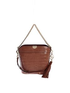 Michael Kors - Bea bucket shoulder in Chestnut color
