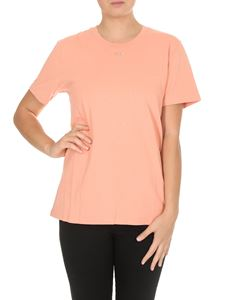 Off-White - T-shirt OFF rosa salmone