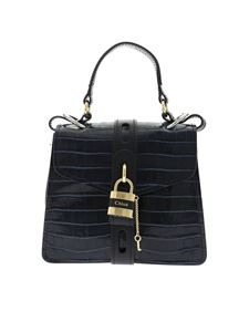 Chloé - Alby small shoulder bag in Full Blue color
