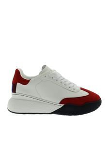 Stella McCartney - White sneakers with red details