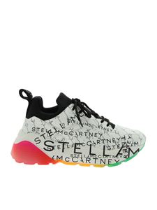 Stella McCartney - Snekers Eclypse monogram bianche e nere
