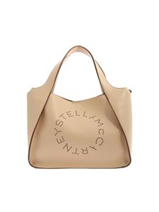 Stella McCartney - Pierced logo Tote bag in pink