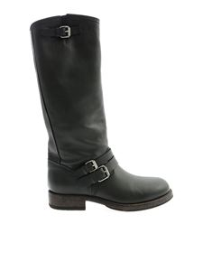 Buttero - Straps boots in black
