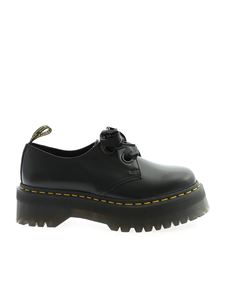 Dr. Martens - Holly derby shoes in black