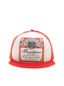Moschino - Moschino x Budweiser hat in red