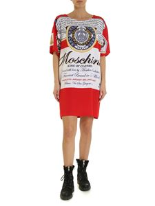 Moschino - Moschino x Budweiser dress in red