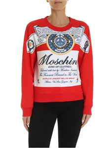 Moschino - Moschino x Budweiser sweatshirt in red