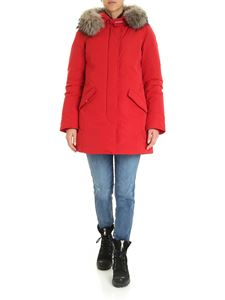 Woolrich - Arctic Luxury parka coat in red