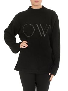 Off-White - OW oversize knitwear in black