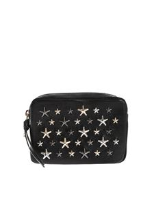 Jimmy Choo - Capella S purse in black with metal stars