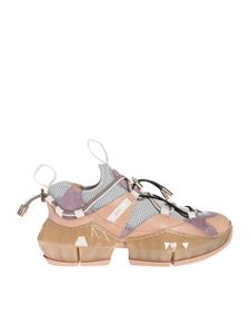Jimmy Choo - Sneakers Diamond Trail F Porcelain e Ballet Pink