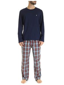 POLO Ralph Lauren - Check and blue pajamas