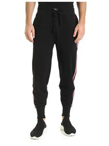 POLO Ralph Lauren - Black trousers with contrasting side bands