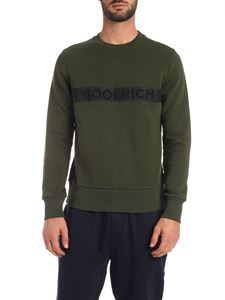 Woolrich - Felpa Luxury Fleece verde