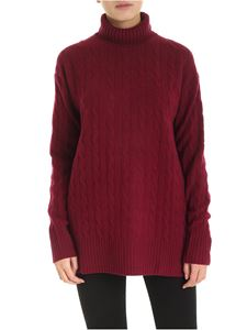 POLO Ralph Lauren - Dolcevita long fit bordeaux