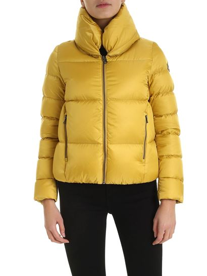 Colmar - Soil down jacket in mustard color
