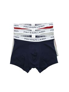 POLO Ralph Lauren - 3 shorts set in blue burgundy and gray
