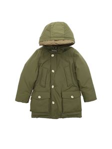 Woolrich - Arctic Parka down jacket in military green