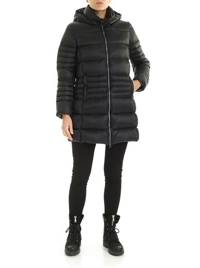 Colmar - Place down jacket in black with hood