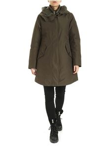 Woolrich - Parka Long Military verde