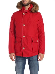 Woolrich - Arctic Anorak down jacket in red