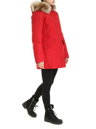 Woolrich - Parka Arctic rosso