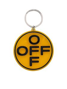 Off-White - OFF keychain in yellow