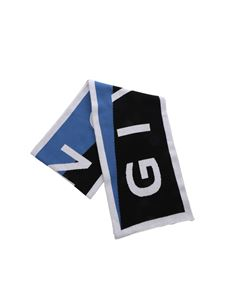 Givenchy - Logo Team Scarf in blue