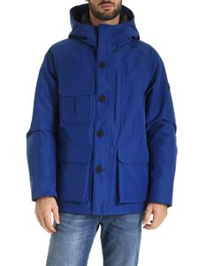 Woolrich - Storm down jacket in electric blue