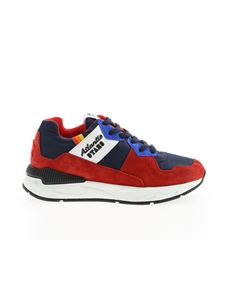 Atlantic Stars - Cetus sneakers in red and blue