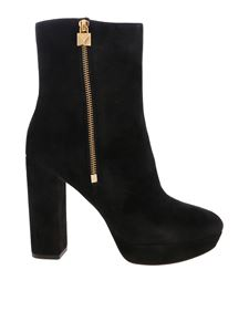 Michael Kors - Frenchie Platform boots in black