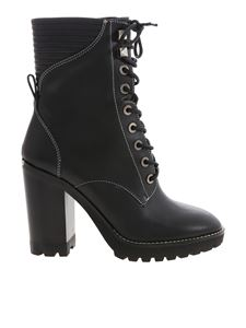 Michael Kors - Bastian Lace Up ankle boots in black